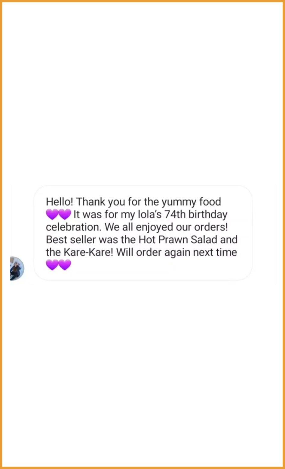 Customer Feedback Photos
